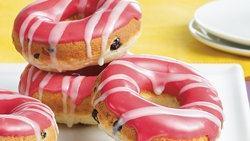 Double Berry Doughnuts