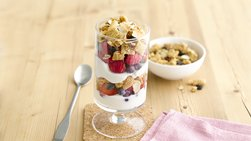 Gluten-Free Mixed Berry Parfait