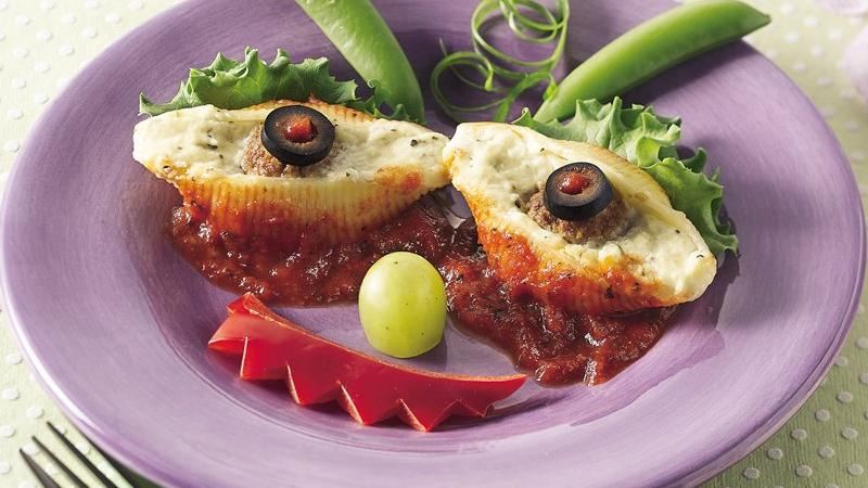 Cheesy Monster Eyes