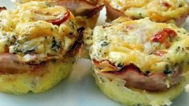 Two-Cheese Egg Frittatas-to-Go