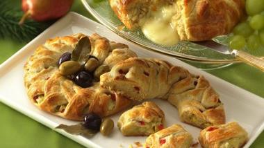 Artichoke-Cheese Braids