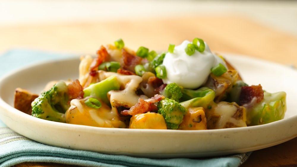Loaded Roasted Potato Casserole
