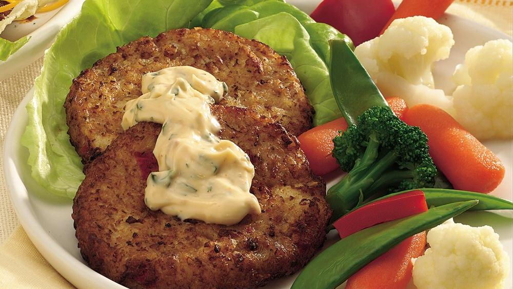 Crab Cakes with Sun-Dried Tomato Mayonnaise