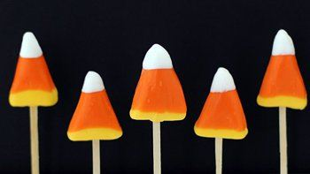 Candy Corn Pops
