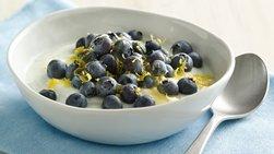 Blueberry-Lemon Coconut Yogurt Bowl