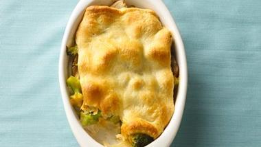 Chicken-Broccoli au Gratin