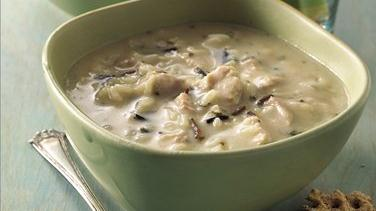 Turkey-Wild Rice Soup