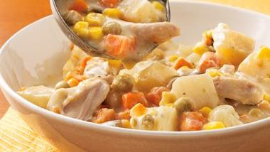 Slow-Cooker Chicken Alfredo Stew