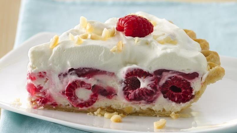 Macadamia Raspberry Pie