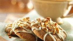 Glazed Bohemian Anise Cookies