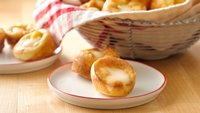 Fireside Popovers with Brie