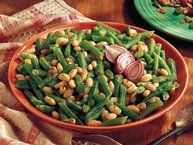 White and Green Beans