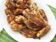 Chicken Wings in Maple Mustard Glaze