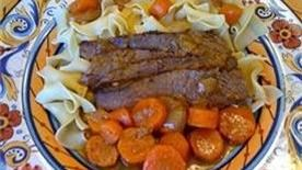 Mazzy's Brisket recipe - from Tablespoon!