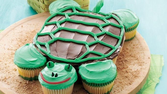 Pull-Apart Turtle Cupcakes recipe - from Tablespoon!