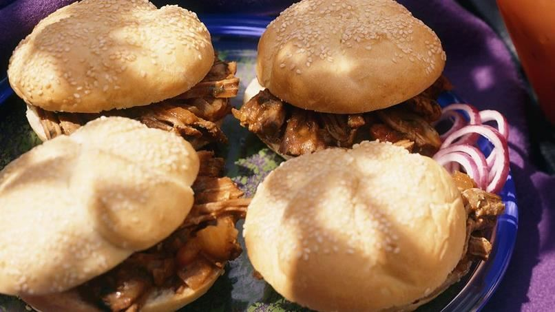Southwest Beef Sandwiches