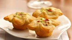 Tartaletas con Crema de Cebolla y Queso