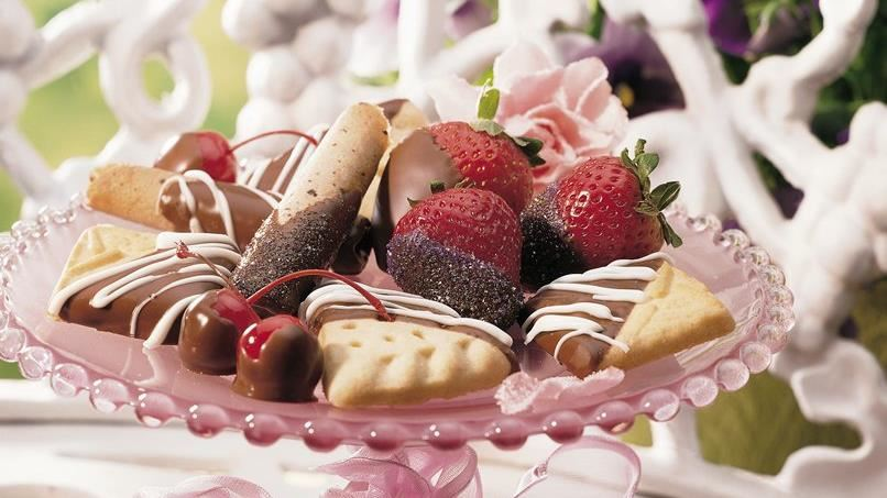 Chocolate-Dipped Confections
