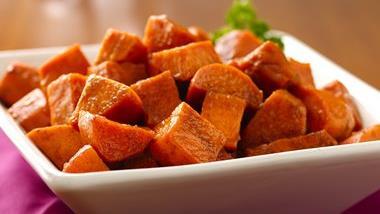 Sweet Potatoes with Cinnamon Honey