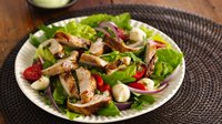 Caprese Turkey Salad with Guacamole
