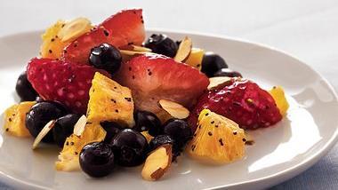 Strawberry-Blueberry-Orange Salad