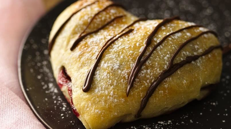 Chocolate-Raspberry Hearts