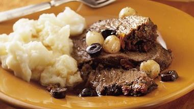 Slow-Cooker Mediterranean Pot Roast