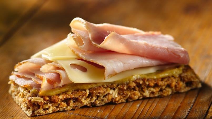 Ham and Cheese Granola Bar
