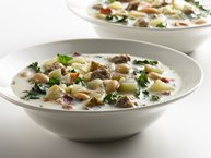 Healthified Italian Sausage Soup