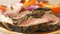 Skinny Cilantro Orange Marinated Flank Steak