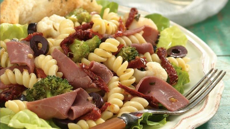 Deli Vegetable and Beef Salad