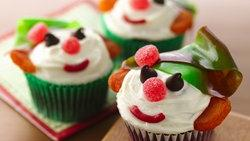 Red Velvet Holiday Elf Cupcakes