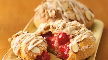 Cherry-Almond Streusel Danish