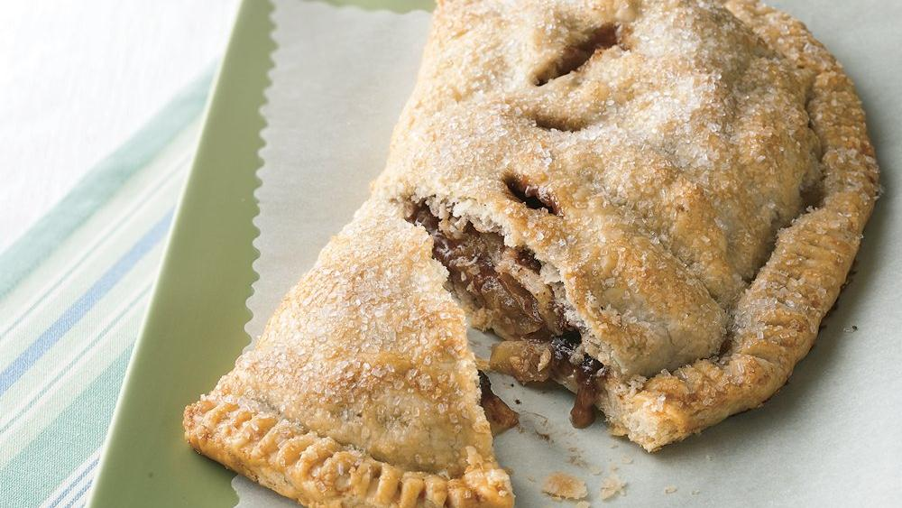 Toffee Apple Turnover Pie