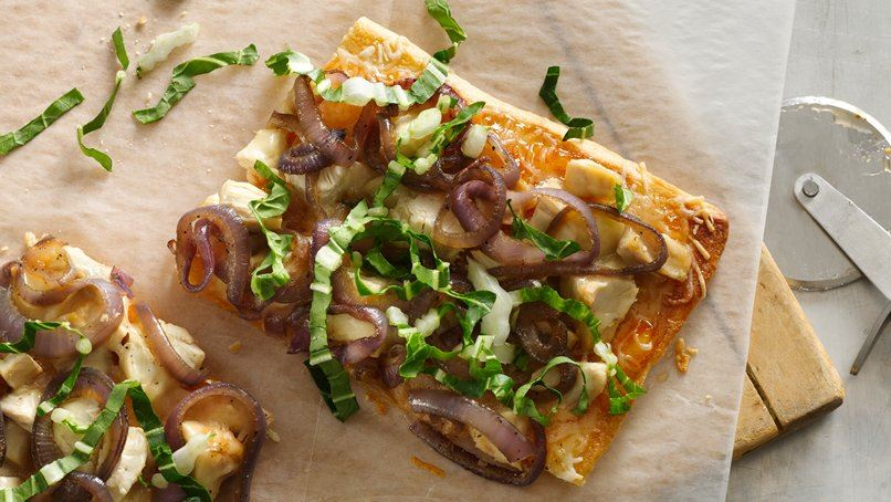 Sweet and Spicy Chicken Flatbread