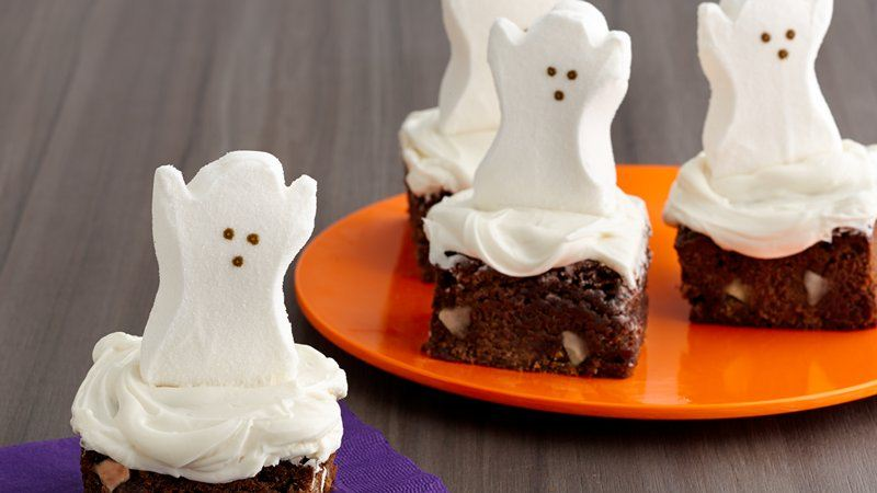 Ghostly PEEPS® Brownies