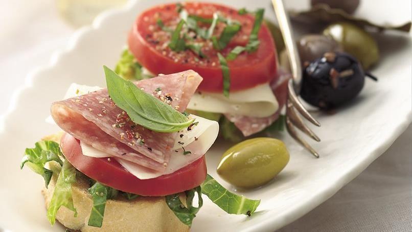 Genoa Salami Stacks