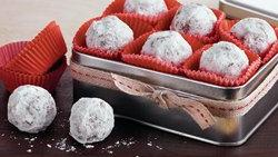 Snowy Bourbon Balls