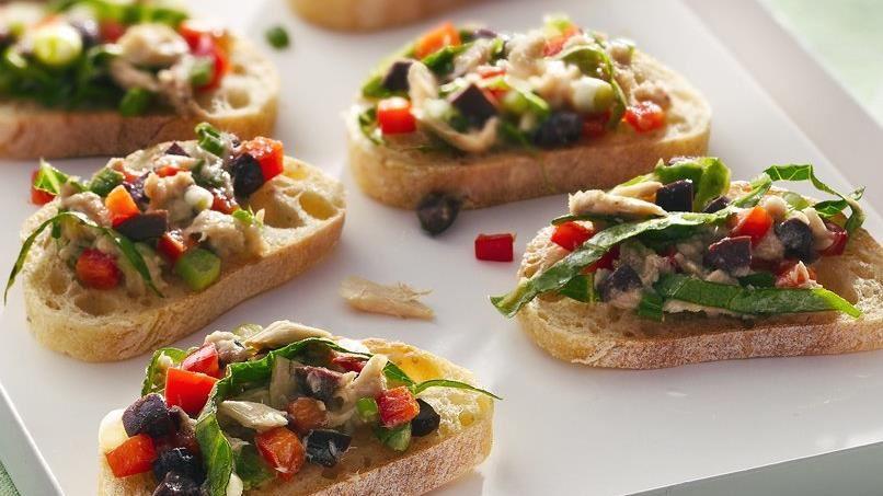 Tuna Salad Bruschetta