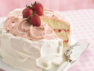 Strawberry-Lime Layer Cake