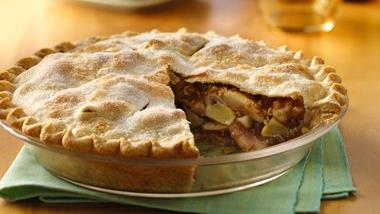 Apple-Pear-Pecan Harvest Pie