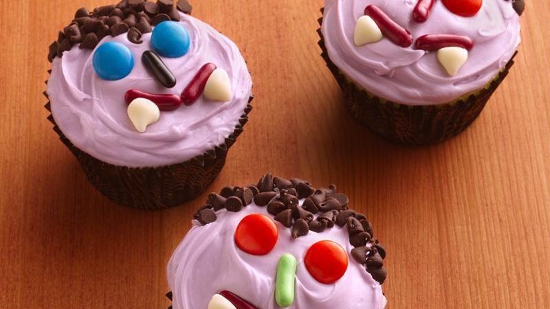Dracula Cupcakes