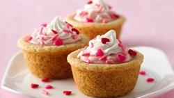 Strawberry Cream Cheese Cookie Tarts