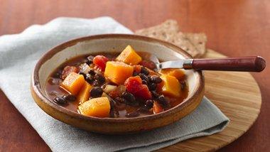 Soybean-Squash Soup