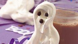 Gluten-Free Meringue Ghosts