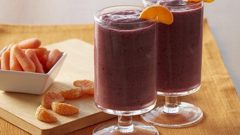 Berry Orange Smoothies