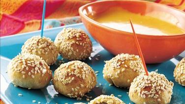 Olive-Cheese Bites