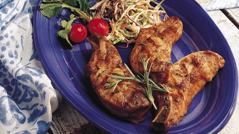 Grilled Wine-Marinated Country-Style Ribs