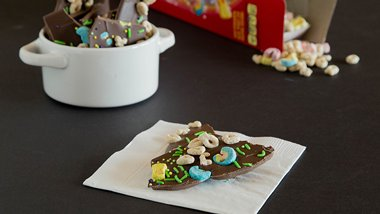 Lucky Charms™ Chocolate Bark