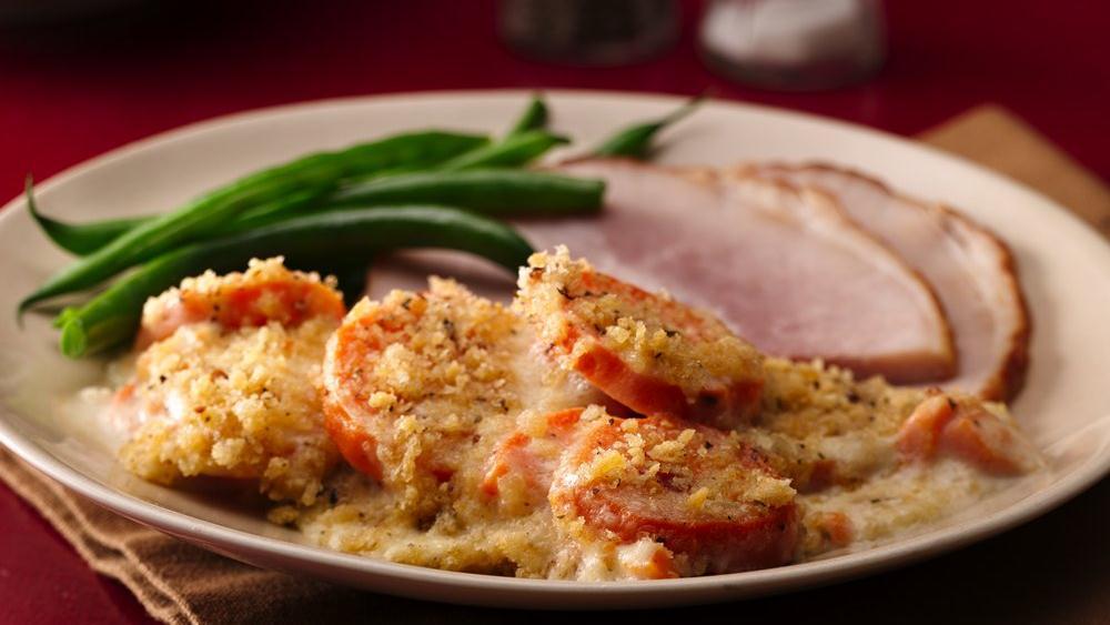 Italian Sweet Potato Gratin